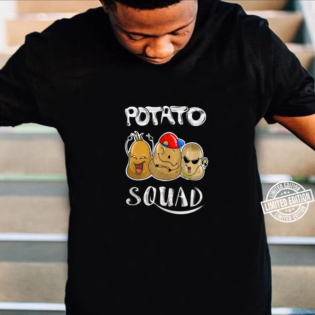 Cool Potato Squad Potatoes Group Eaters Shirt