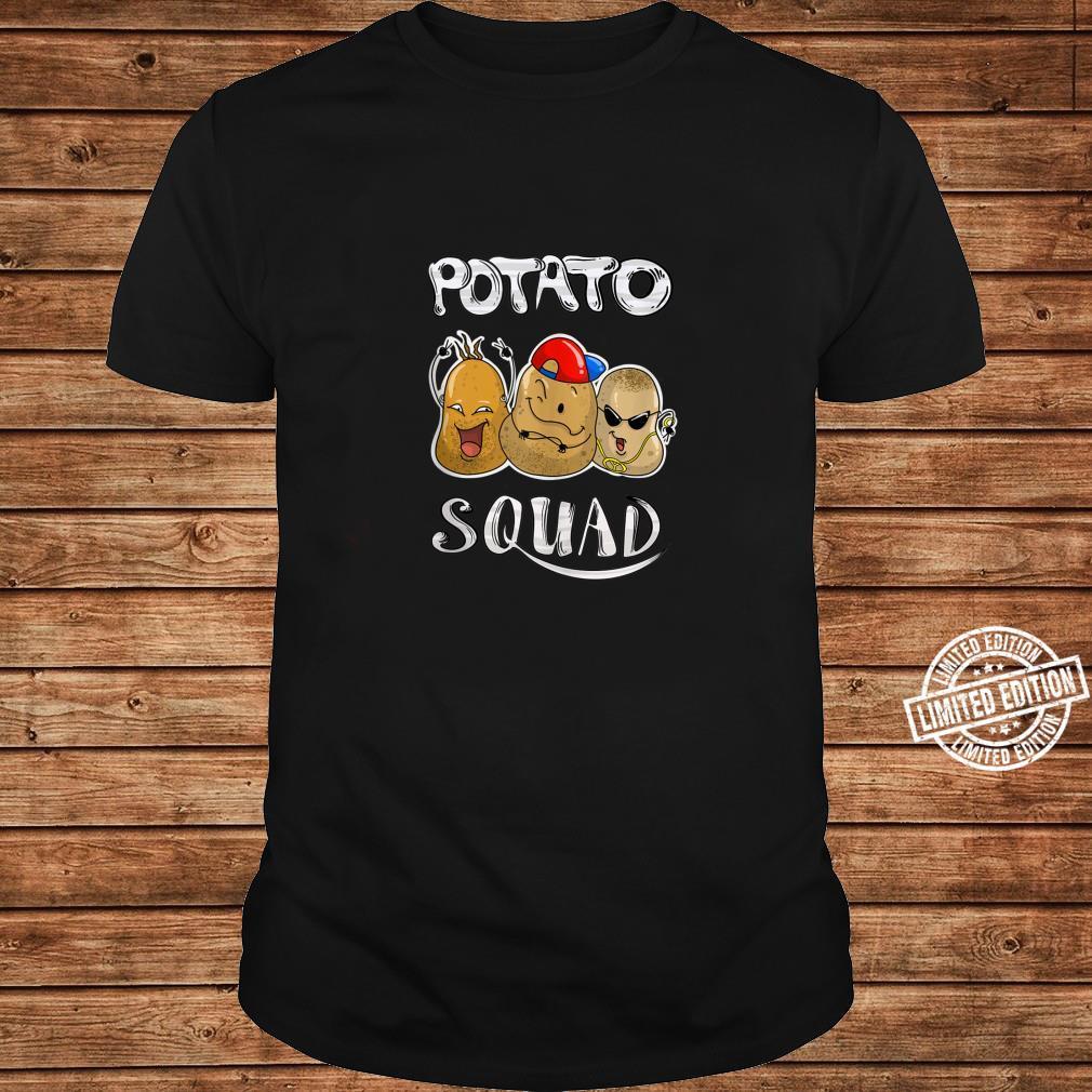 Cool Potato Squad Potatoes Group Eaters Shirt long sleeved