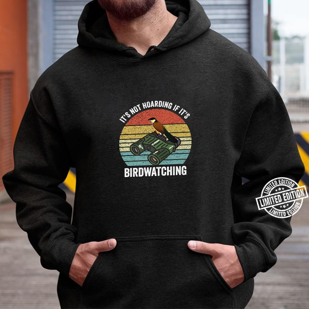 It's Not Hoarding If It's Archery Vintage Bow Hunting Shirt hoodie