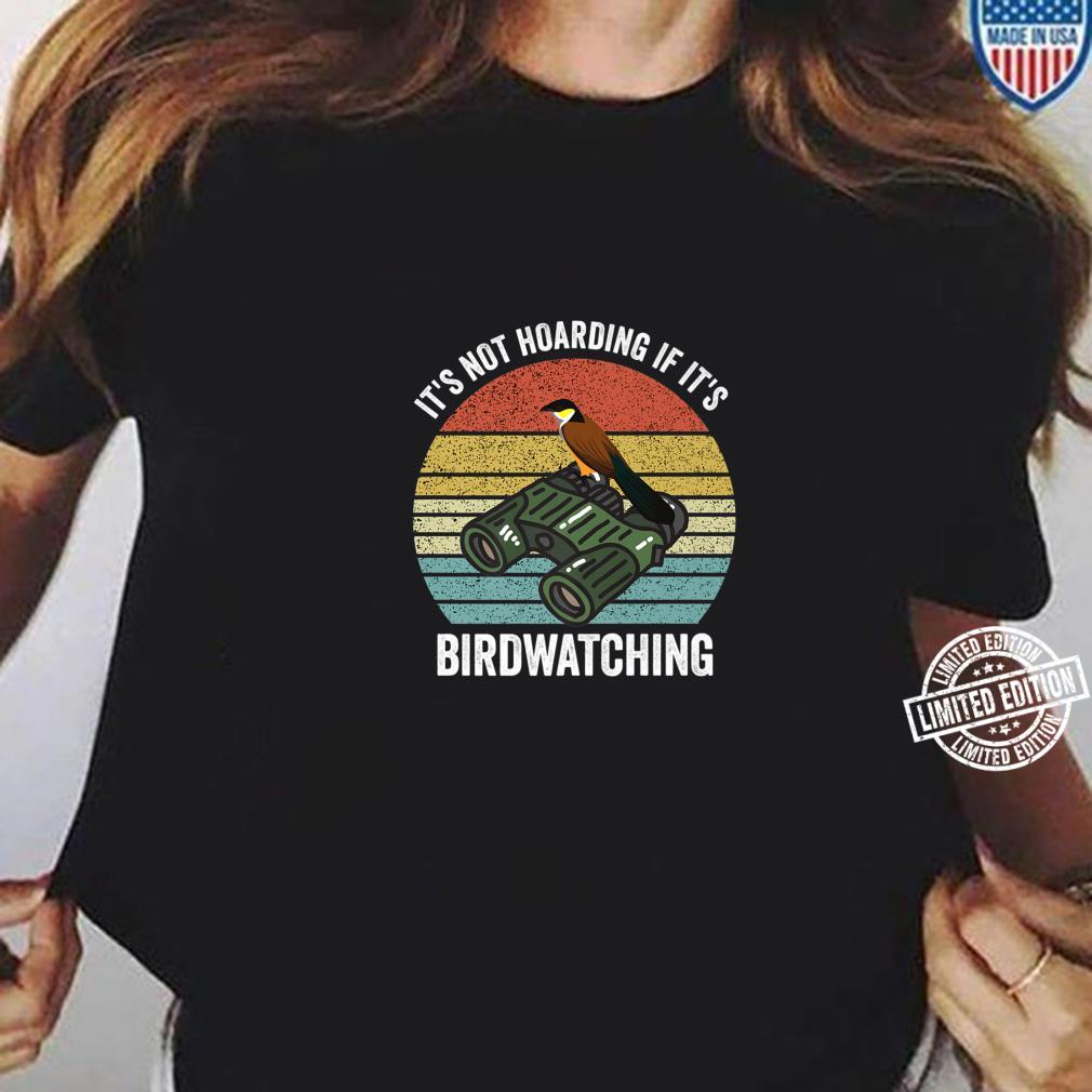 It's Not Hoarding If It's Archery Vintage Bow Hunting Shirt ladies tee