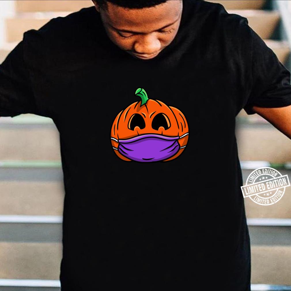 JackOLaterne Kürbismaske soziale Distanzierung Pumpkin Langarmshirt Shirt