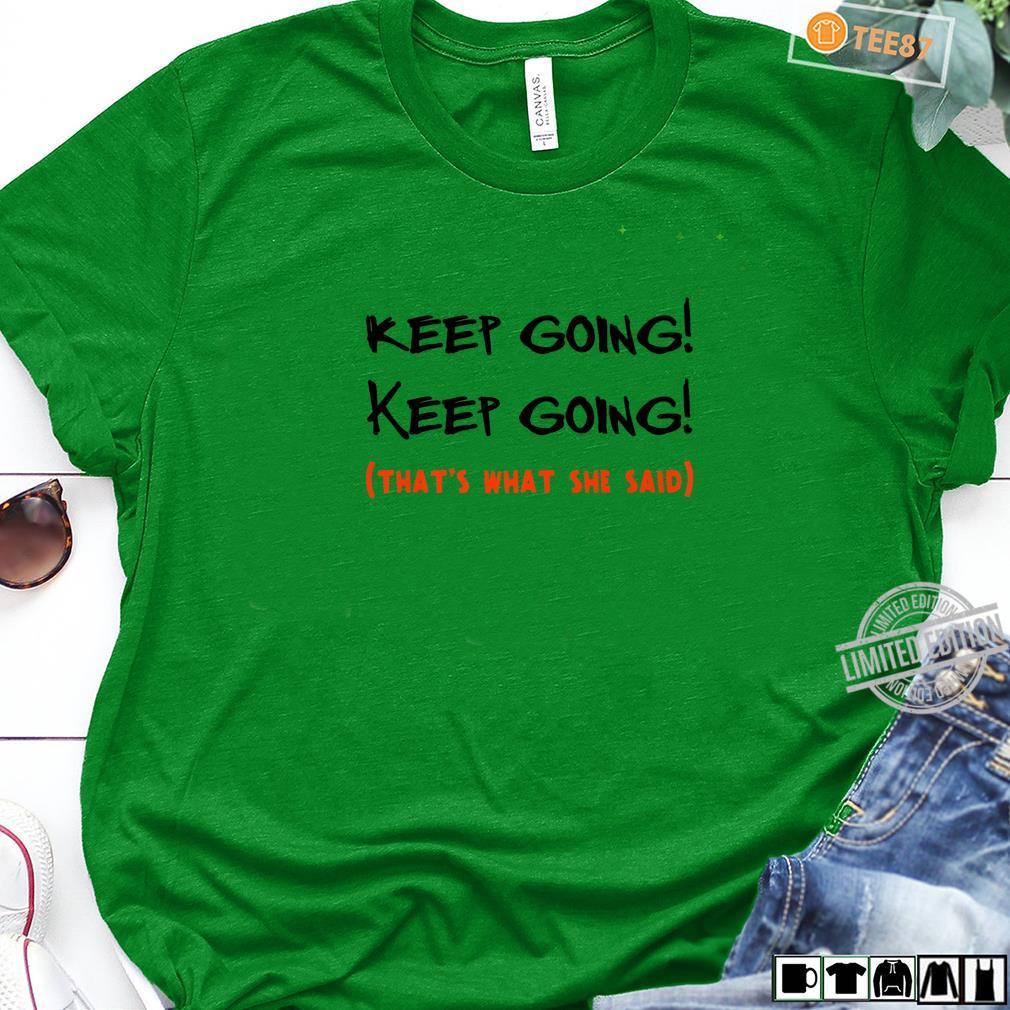 Keep Running for Running Girl Runner Shirt long sleeved