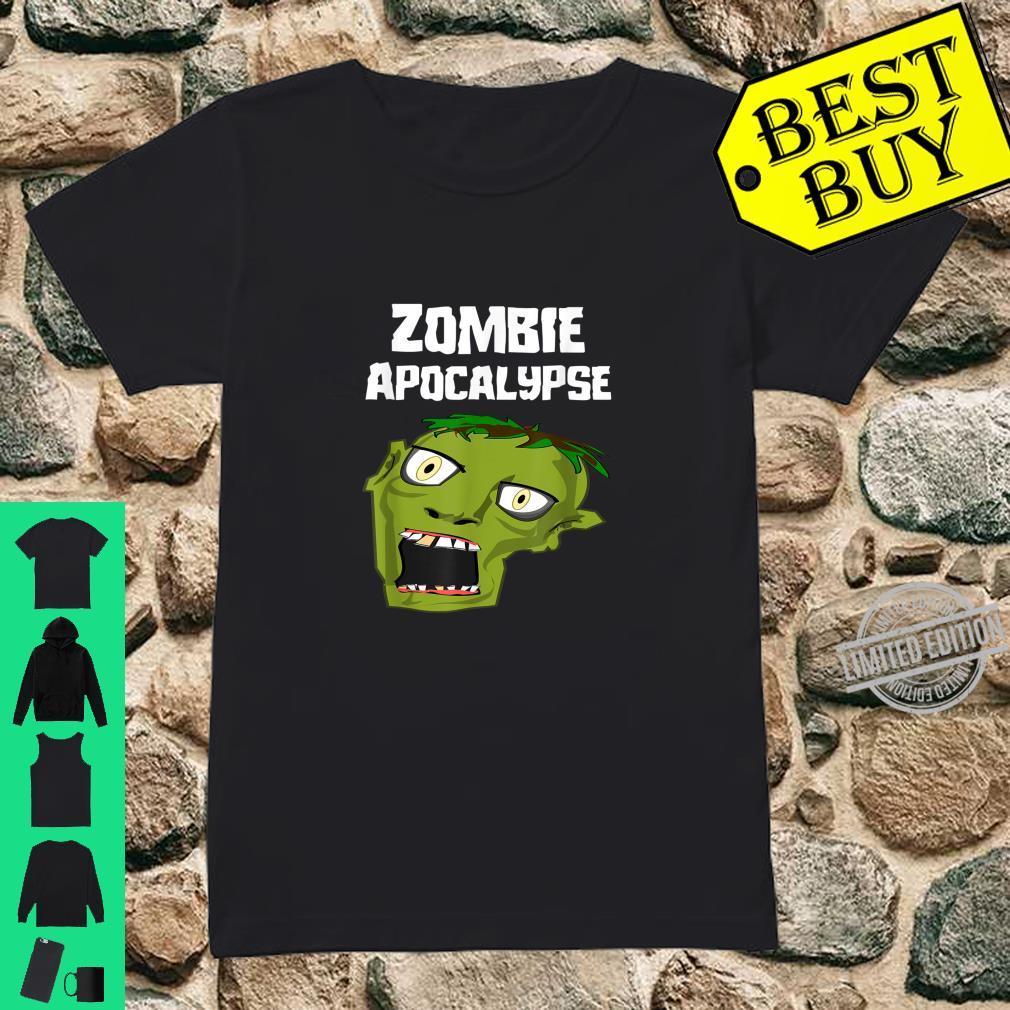Zombie Apocalypse Shirt ladies tee