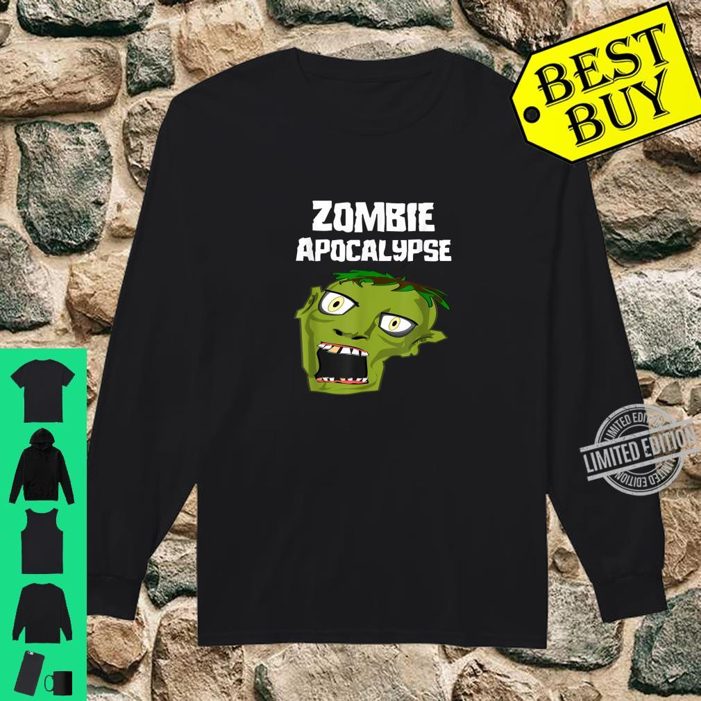 Zombie Apocalypse Shirt long sleeved